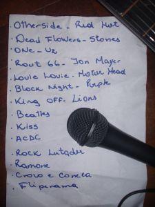 tracklisting da Marvin