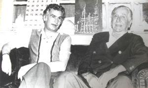 Mário Lopes e Emílio Médici