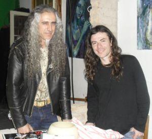 Crespo, o fã que prestigiou Frank em 2003 no Imba, repetiu o encontro e até as posições de uma foto da época
