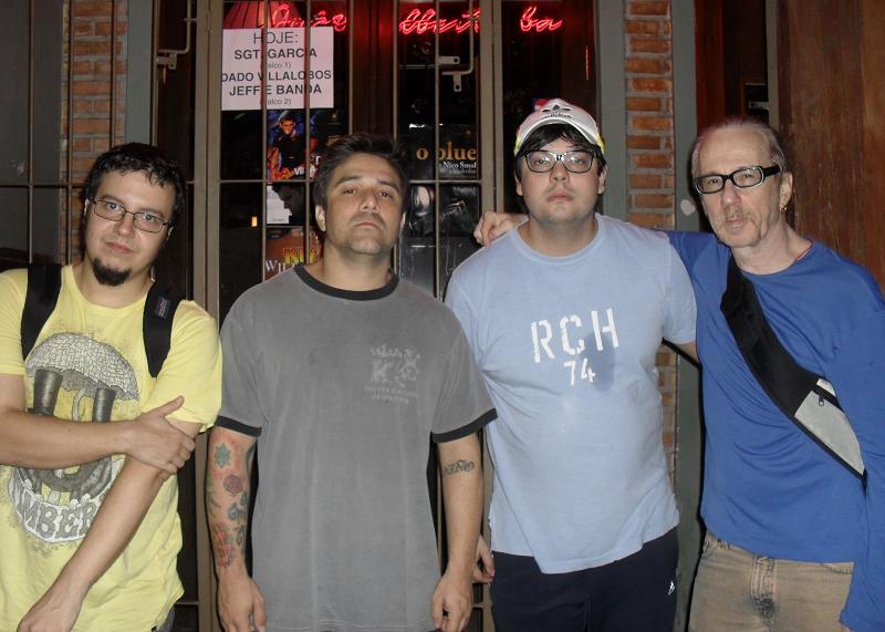 Lourenço, Renato, Caio e Laufer