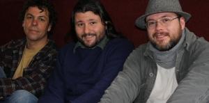 Gaiger, Leandro e Thiago em foto de Fabiana Jorge